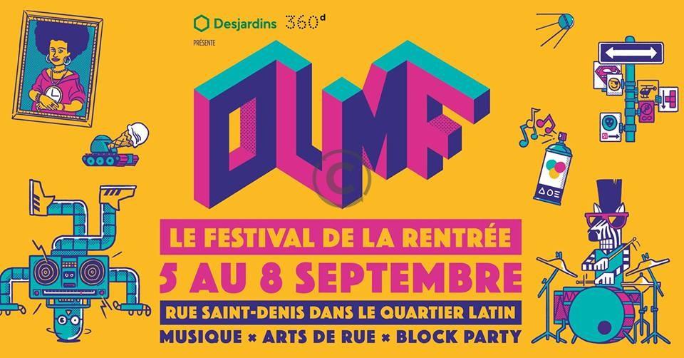 OUMF – LE FESTIVAL DE LA RENTRÉE – 5 AU 8 SEPTEMBRE