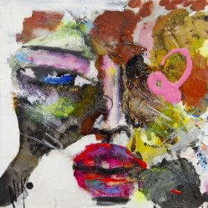 Fleurette | Niko | Artiste peintre